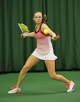 Rotterdam, The Netherlands, March 11, 2016,  TV Victoria, , NOJK 12/16 years, Femke Mars<br /> Photo: Tennisimages/Henk Koster