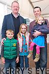 Mick Galwey with Óran, Éabha, Síofra and Liam Murphy (Spa) at the Paídí Ó Sé Deireadh Seachtaine Caide over the weekend..