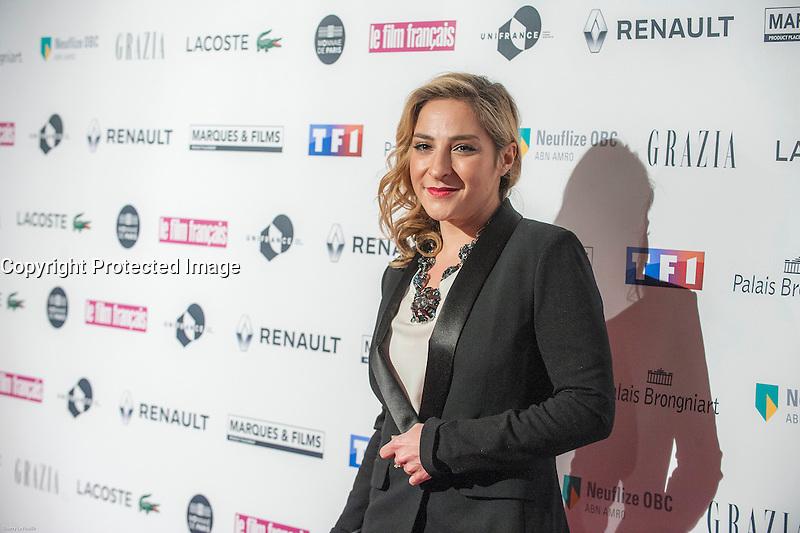 Marilou Berry ‡ la soirÈe des TrophÈes du Film FranÁais 2017 au Palais Brongniart ‡ Paris le 2 fÈvrier 2017. # TROPHEES DU FILM FRANCAIS 2017