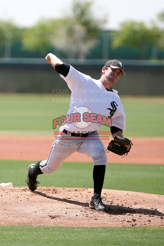 Paul Burnside, Chicago White Sox 2010 extended spring training..Photo by:  Bill Mitchell/Four Seam Images.