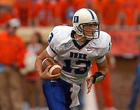 Duke QB Zack Asack