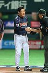 Koji Yamamoto (JPN), .MARCH 2, 2013 - WBC : .2013 World Baseball Classic .1st Round Pool A .between Japan 5-3 Brazil .at Yafuoku Dome, Fukuoka, Japan. .(Photo by YUTAKA/AFLO SPORT)