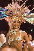 Tropicana Show dancer in Havana Cuba