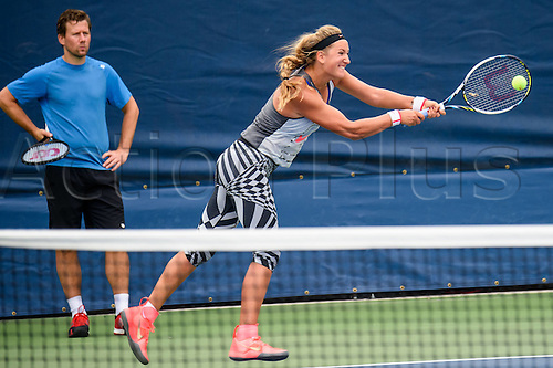 31.08.2015. New York, NY, USA.  Victoria Azarenka (BLR) at the 2015 U.S. Open Tennis Championships at the USTA Billie Jean King National Tennis Center in Flushing, Queens, New York, USA.