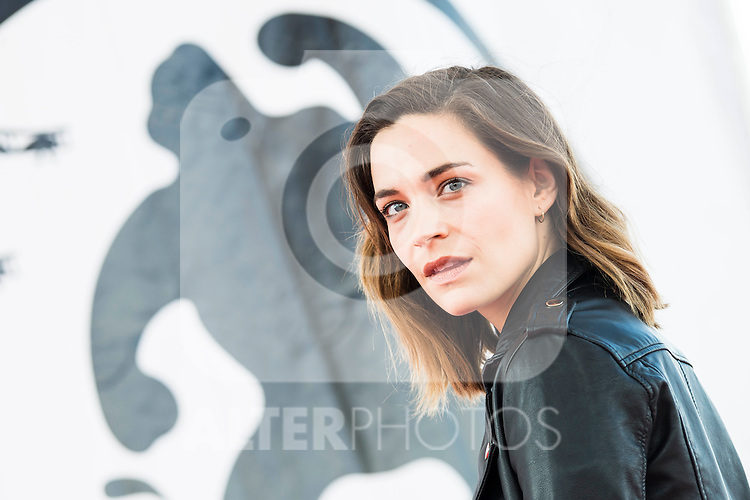 "Canadian actress Kathleen Munroe pose to the media during the presentation of the film ""The Void"" at the Festival de Cine Fantastico de Sitges in Barcelona. October 08, Spain. 2016. (ALTERPHOTOS/BorjaB.Hojas)"