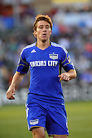 Matt Besler...Kansas City Wizards defeated Colorado Rapids 1-0 at Community America Ballpark, Kansas City, Kansas.