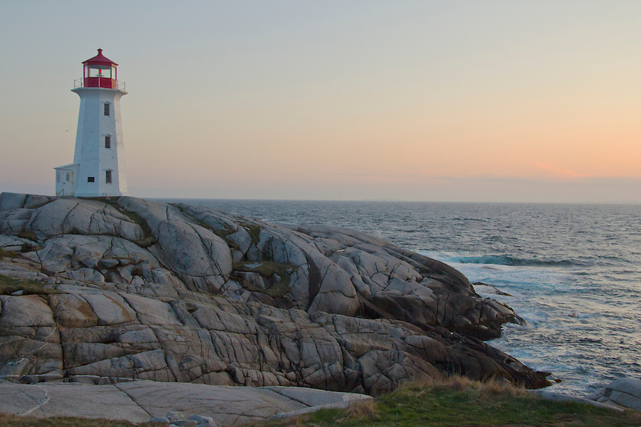 Lighthouse at Peggy's Cove Nova Scotia