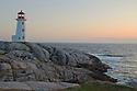 Lighthouse at Peggy's Cove Nova Scotia
