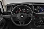 Car pictures of steering wheel view of a 2019 Volkswagen Crafter Base 4 Door Cargo Van