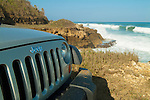 Jeep Wrangler goes off-road in Puerto Rico
