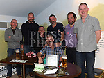 Organizers Thomas Flemming, David Reilly, Kenny Lenehan, Tom McMahon, Greg Johnson, Tom Doggett and Brian Kelly at the Rock Night For Rory in the Thatch. Photo:Colin Bell/pressphotos.ie