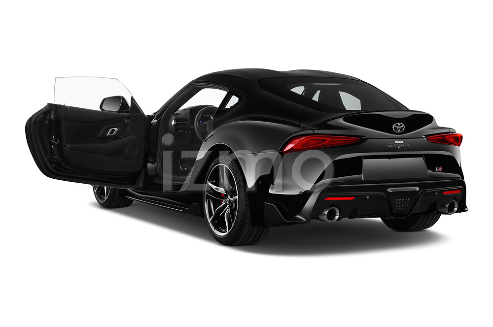 Car images close up view of a 2019 Toyota GR-Supra Sport 2 Door Coupe doors