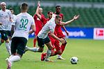 Niklas Moisander (Werder Bremen #18 Kapitaen), Dominick Drexler (FC Koeln #24)<br /> <br /> <br /> Sport: nphgm001: Fussball: 1. Bundesliga: Saison 19/20: 34. Spieltag: SV Werder Bremen vs 1.FC Koeln  27.06.2020<br /> <br /> Foto: gumzmedia/nordphoto/POOL <br /> <br /> DFL regulations prohibit any use of photographs as image sequences and/or quasi-video.<br /> EDITORIAL USE ONLY<br /> National and international News-Agencies OUT.
