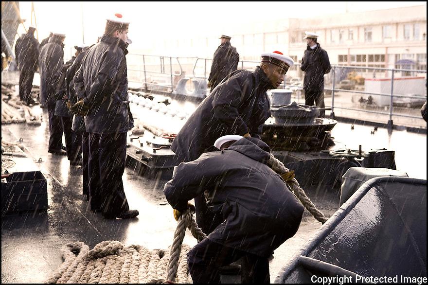 Décembre 2008/ Brest/ Appareillage.