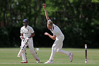 B Allison of Brentwood during Brentwood CC vs Ilford CC, Shepherd Neame Essex League Cricket at The Old County Ground on 8th June 2019