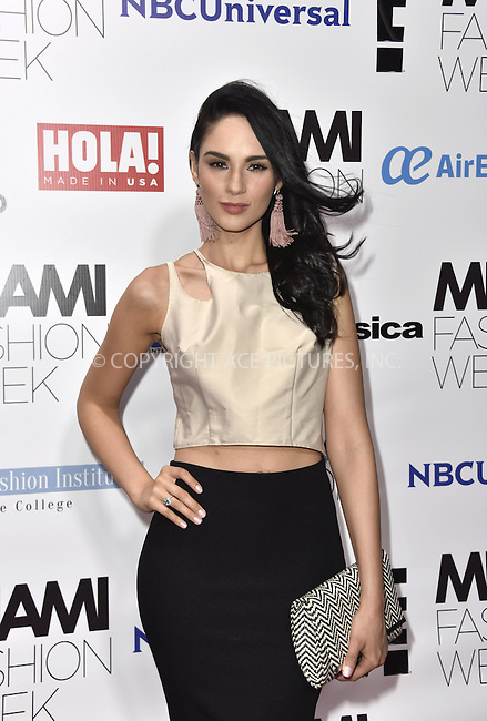WWW.ACEPIXS.COM<br /> <br /> June 4 2016, Miami<br /> <br /> Alexandra Pomales arriving at the Miami Fashion Week Soiree at the Vizcaya Museum &amp; Gardens on June 4, 2016 in Miami, Florida<br /> <br /> <br /> By Line: Solar/ACE Pictures<br /> <br /> <br /> ACE Pictures, Inc.<br /> tel: 646 769 0430<br /> Email: info@acepixs.com<br /> www.acepixs.com