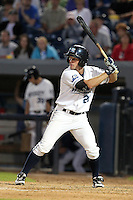 West Michigan Whitecaps outfielder Jeff Rowland (20) during a game vs. the South Bend Silver Hawks at Fifth Third Field in Comstock Park, Michigan August 16, 2010.   West Michigan defeated South Bend 3-2.  Photo By Mike Janes/Four Seam Images
