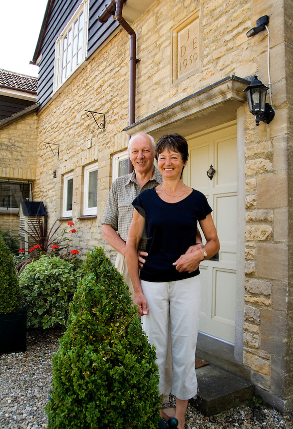 Owners of Field View B&B, Witney, England