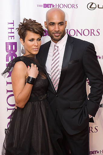 Slug: 2011 BET Honors.Date: 01-16-2011.Photographer: Mark Finkenstaedt.Location:  Wagner Theater, Washington DC.Caption:  2010 BET Honors - Wagner Theater Washington DC.Bori Kodjoe - Nicole Ari Parker.