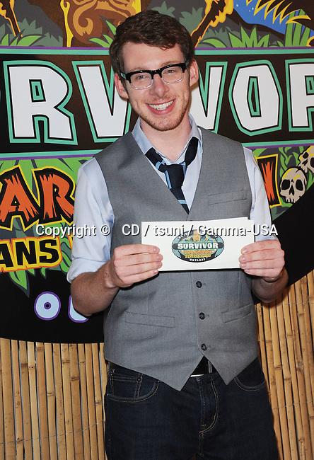 John Cochran  at the Survivor-  Caramoan finale at the CBS Radford studios in Los Angeles.