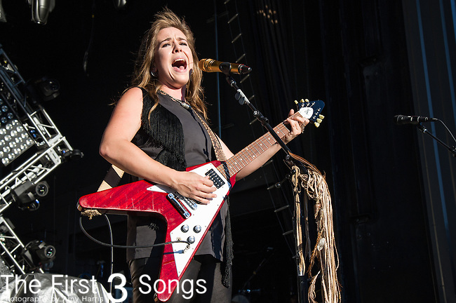 Serena Ryder performs at the Lifestyle Communities Pavilion in Columbus, Ohio.