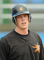 June 21, 2008: Catcher Matt Wieters (32) of the Frederick Keys, Carolina League affiliate of the Baltimore Orioles, prior to a game against the Potomac Nationals at G. Richard Pfitzner Stadium in Woodbridge, Va. Photo by:  Tom Priddy/Four Seam Images