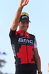 Greg Van Avermaet (BEL) BMC Racing wins the 115th edition of the Paris-Roubaix 2017 race running 257km from Compiegne to Roubaix, France. 9th April 2017.<br /> Picture: Eoin Clarke | Cyclefile<br /> <br /> <br /> All photos usage must carry mandatory copyright credit (&copy; Cyclefile | Eoin Clarke)