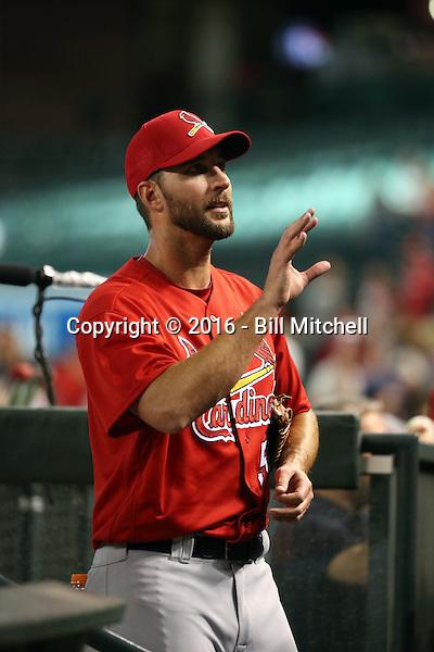 Adam Wainwright - 2016 St. Louis Cardinals (Bill Mitchell)