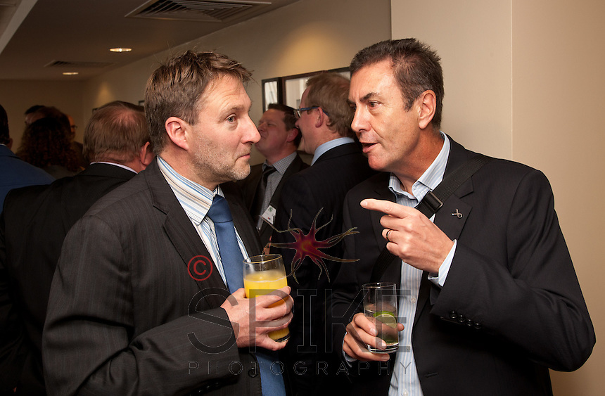 Andy Dowding of Franklin Ellis Architects and Rob Green Collinshallgreen (right)