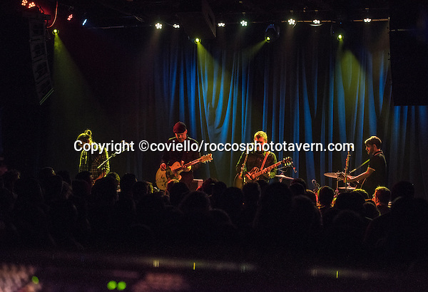 Opening night of 'Painkillers' Tour. Great Great Show. Brian, Alex Rosamilia (one of the founding members of the band The Gaslight Anthem), Ian Perkins, former Ryan Adams and the Cardinal bassist Catherine Popper, Butch Walker and Scissor Sisters drummer Randy Schrager.