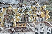 BG51491.JPG BULGARIA, BATCHKOVO MONASTERY, Refectory, 1601, frescoes