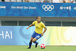 18 August 2008: Marta (BRA).  The women's Olympic soccer team of Brazil defeated the women's Olympic soccer team of Germany 4-1 at Shanghai Stadium in Shanghai, China in a Semifinal match in the Women's Olympic Football competition.