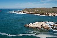 Scenic coastline of Montana de Oro state park, California