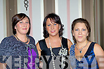 Peggy Fleming, Michaela Looney, Gemma Cirillo and Margaret Looney having fun at the 1970 Listry football team banquet in the Gleneagle Hotel on Saturday night