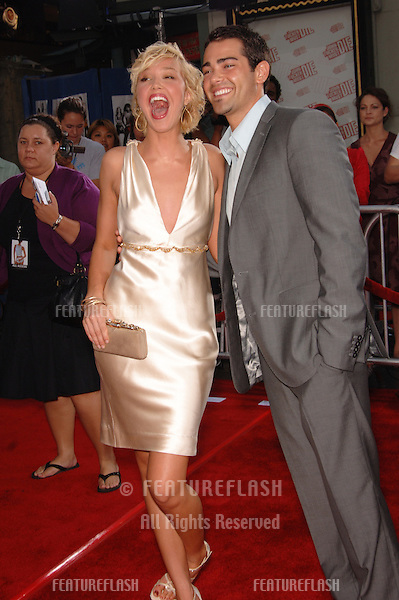 "Actress ARIELLE KEBEL & actor JESSE METCALFE at the Los Angeles premiere of their new movie ""John Tucker Must Die"" at the Grauman's Chinese Theatre, Hollywood..25 July 2006  Los Angeles, CA.© 2006 Paul Smith / Featureflash"