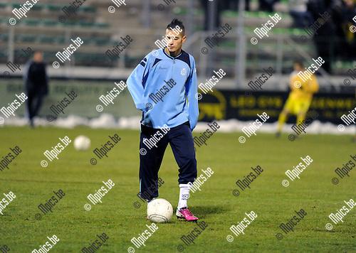 2013-02-09 / Voetbal / seizoen 2012-2013 / Dessel Sport / Jaadi Reda..Foto: Mpics.be