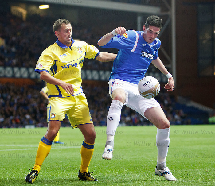Kyle Lafferty and James Fowler