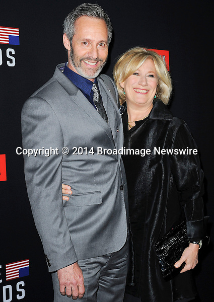 Pictured: Michel Gill, Jayne Atkinson<br /> Mandatory Credit &copy; Adhemar Sburlati/Broadimage<br /> Film Premiere of House of Cards<br /> <br /> 2/13/14, Los Angeles, California, United States of America<br /> <br /> Broadimage Newswire<br /> Los Angeles 1+  (310) 301-1027<br /> New York      1+  (646) 827-9134<br /> sales@broadimage.com<br /> http://www.broadimage.com
