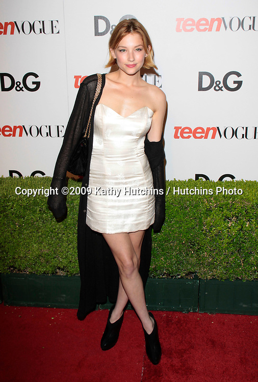 Haley Bennett.The 7th Annual Teen Vogue Young Hollywood Party.Milk Studios.Los Angeles, CA.September 25, 2009.©2009 Hutchins Photo....