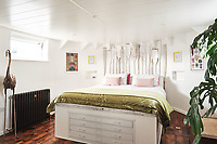 BNPS.co.uk (01202 558833)<br /> Pic: Aucoot/BNPS<br /> <br /> House Boat Heaven...<br /> <br /> A former coal barge that has been converted into a stylish two storey houseboat has emerged for sale for £400,000.<br /> <br /> Liverpool 91 comes with its own tidal mooring in Gosport, Hants, which enjoys stunning breathtaking sea views across the Solent.<br /> <br /> On one side of the spot is Portsmouth - home of the Royal Navy - while on the other the Isle of Wight.<br /> <br /> It was transformed by the current owners around six years ago and they have lived on the vessel ever since.