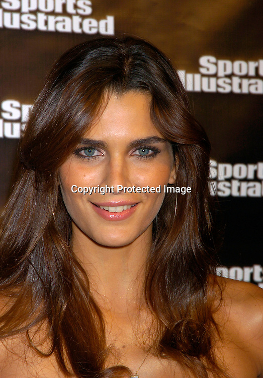 Fernanda Motta..at the 2004 Sports Illustrated Swimsuit Issue Press Event at ..Deep in NYC on Tuesday 10, 2004.                              Photo by Robin Platzer, Twin Images