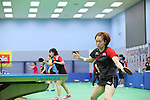 kasumi Ishikawa (JPN), <br /> JULY 22, 2016 - Table Tennis : <br /> Japan national team training session <br /> for Rio Olympic Games 2016 <br /> at Ajinomoto National Training Center, Tokyo, Japan. <br /> (Photo by YUTAKA/AFLO SPORT)