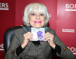 "Carol Channing Signing her new CD Release ""For Heaven's Sake"" on World Aids Day at Borders Columbus Circle in New York City"