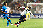 Tottenham Hotspur Midfielder Georges-Kevin Nkoudou (R) in action against SC Kitchee Forward Kwan Yee Lo (L) during the Friendly match between Kitchee SC and Tottenham Hotspur FC at Hong Kong Stadium on May 26, 2017 in So Kon Po, Hong Kong. Photo by Man yuen Li  / Power Sport Images