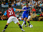 Didier Drogba of Chelsea in action during the Asia Trophy Final match aganist Aston Villa at the Hong Kong Stadium on July 30, 2011 in So Kon Po, Hong Kong. Photo by Victor Fraile / The Power of Sport Images