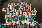 Mery Mounthawk 1st year girls won the all Ireland basketball title in Dublin on Tuesday. Pictured the Team  Ciara Ryan, Rachel Ryan  Lucy O'Carroll, Elle McElligott,, Catherine Belyakov, Alison O'Leary  Amanda Brosnan Sarah Healy, Mairead Carney, Ciara McCarthy, Rebecca Conway, Méabh McElligott, Isabelle Lynch, Renée Brosnan, Caoimhe Edwards