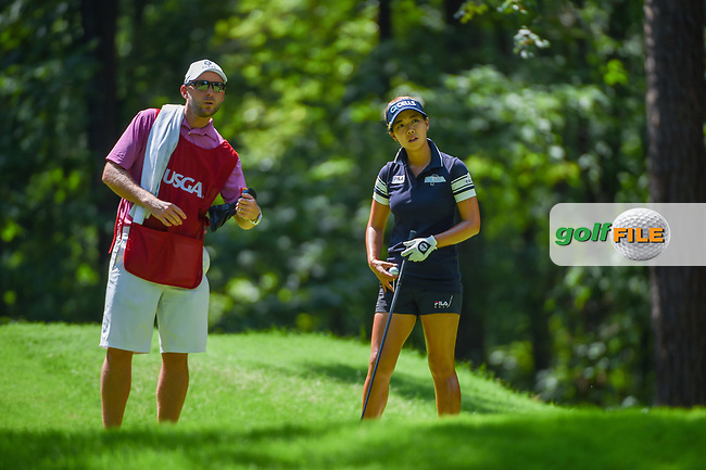 Jenny Shin (KOR) looks over her tee shot on 2 during round 3 of the U.S. Women's Open Championship, Shoal Creek Country Club, at Birmingham, Alabama, USA. 6/2/2018.<br /> Picture: Golffile | Ken Murray<br /> <br /> All photo usage must carry mandatory copyright credit (© Golffile | Ken Murray)