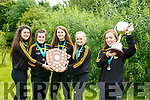 Mercy Mounthawk students Rachel Bowler, Aoife O'Carroll, Lauren O'Grady, Aoibín O'Brian, and Orla O'Reilly who won Best Senior Girls Team at the All Ireland School's Athletics at the weekend