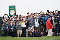 Danny Willett (ENG) on the 9th tee during the 3rd round of the US Open Championship, Pebel Beach Golf Links, Monterrey, Calafornia, USA. 15/06/2019.<br /> Picture Fran Caffrey / Golffile.ie<br /> <br /> All photo usage must carry mandatory copyright credit (© Golffile | Fran Caffrey)