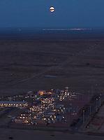 Black Hills Energy natural gas electric power plant, Pueblo, Colorado. Oct 2012
